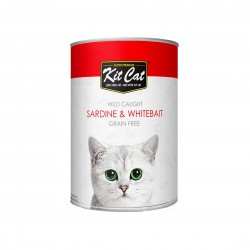 Kit Cat Canned Food Sardine & Whitebait 400g