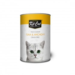 Kit Cat Canned Food Tuna & Anchovy 400g