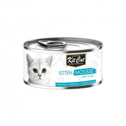 Kit Cat Food Mousse with Tuna for Kitten 80g