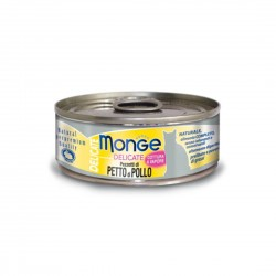 Monge Delicate Cat Canned Food Chicken 80g