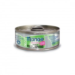 Monge Delicate Cat Canned Food Chicken with Asparagus 80g