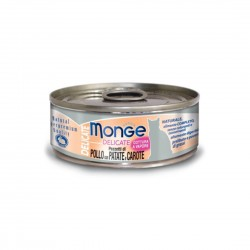 Monge Delicate Cat Canned Food Chicken with Potato & Carrot 80g