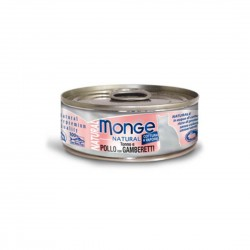 Monge Natural Cat Canned Food Tuna & Chicken with Shrimp 80g