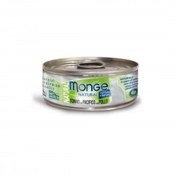 Monge Natural Cat Canned Food Yellowfin Tuna with Chicken 80g