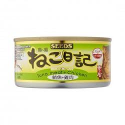 Seeds Miao Miao Cat Canned Food Tuna & Chicken 170g
