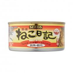 Seeds Miao Miao Cat Canned Food Tuna & Shrimp 170g