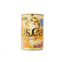 Seeds US Cat Canned Food Tuna & Chicken 400g