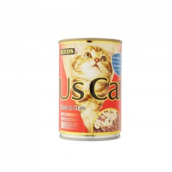 Seeds US Cat Canned Food Tuna & Crab 400g
