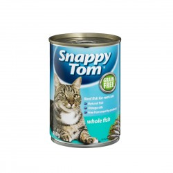 Snappy Tom Cat Canned Food Whole Fish 400g