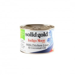 Solid Gold Cat Canned Food Indigo Moon Chicken Liver & Coconut Oil 170g