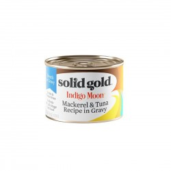 Solid Gold Cat Canned Food Indigo Moon Mackerel & Tuna in Gravy 170g