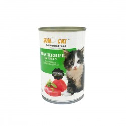 Sumo Cat Canned Food Mackerel in Jelly 400g