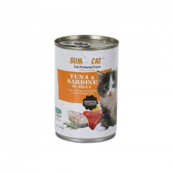 Sumo Cat Canned Food Tuna & Sardine in Jelly 400g