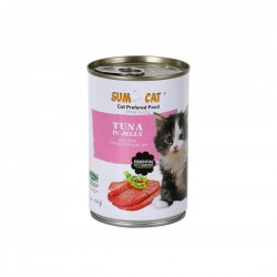 Sumo Cat Canned Food Tuna in Jelly 400g