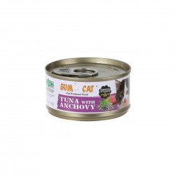 Sumo Cat Canned Food Tuna with Anchovy 80g
