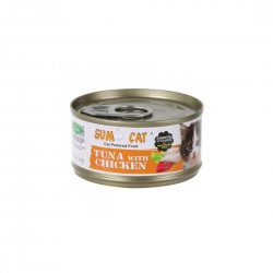 Sumo Cat Canned Food Tuna with Chicken 80g