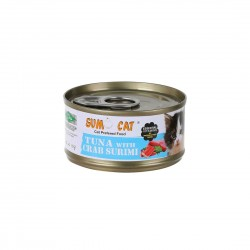 Sumo Cat Canned Food Tuna with Crab Surimi 80g