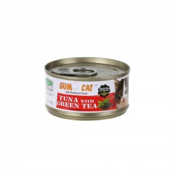 Sumo Cat Canned Food Tuna with Green Tea Jelly 80g