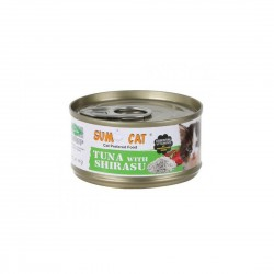 Sumo Cat Canned Food Tuna with Shirasu 80g