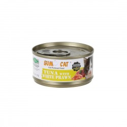Sumo Cat Canned Food Tuna with White Prawn 80g