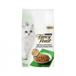 *Cats of Marine Terrace* Fancy Feast Cat Dry Food Ocean Fish, Salmon & Accents of Garden Greens 1.36kg