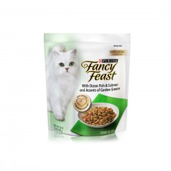Fancy Feast Cat Dry Food Ocean Fish, Salmon & Accents of Garden Greens 454g