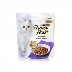 Fancy Feast Cat Dry Food Savory Chicken & Turkey 454g