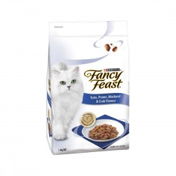 Fancy Feast Cat Dry Food Tuna, Prawn, Mackerel & Crab Flavour 1.4kg