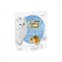 *BIG SALE* Fancy Feast Gourmet Naturals Cat Dry Food Ocean Whitefish 454g 36 bags