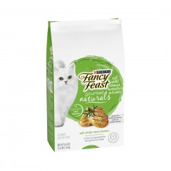 Fancy Feast Gourmet Naturals Cat Dry Food White Meat Chicken 1.54kg
