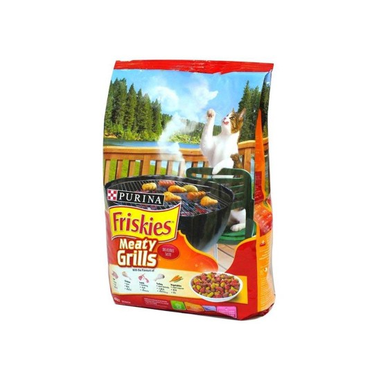 Friskies Cat Dry Food Meaty Grill 1.2kg
