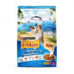 Friskies Cat Dry Food Seafood Sensations 3kg