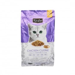 Kit Cat Dry Food Chicken Cuisine 1.2kg