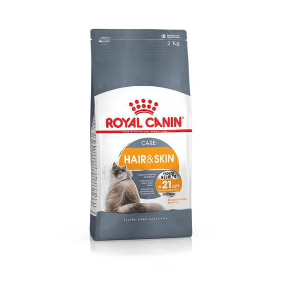 Royal Canin Cat Food for Hair & Skin Care 2kg
