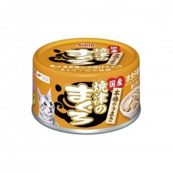 Aixia Yaizu no Maguro Cat Canned Food Tuna and Chicken Fillet with Scallop Fish Cake 70g