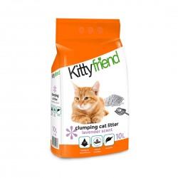 Sanicat Kitty Friend Clumping Cat Litter Lavender 10L