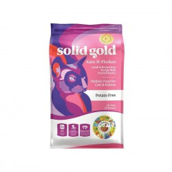 Solid Gold Cat Dry Food Lamb & Brown Rice Recipe with Pearled Barley 1.81kg