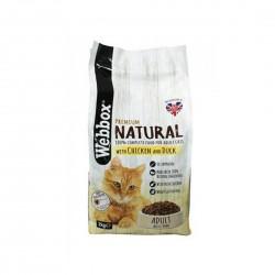 Webbox Cat Dry Food Natural Chicken & Duck 2kg