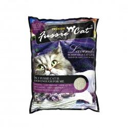 Fussie Cat Litter Lavender Scoopable 10L
