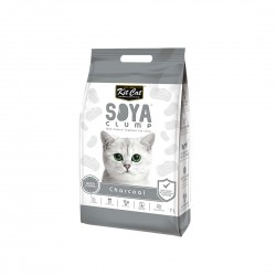 Kit Cat Soya Clump Cat Litter Charcoal 7L