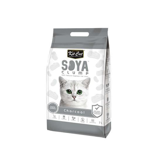 Kit Cat Soya Clump Cat Litter Charcoal 7L
