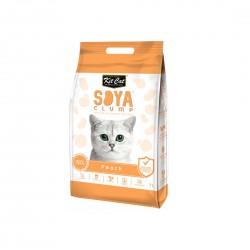 Kit Cat Soya Clump Cat Litter Peach 7L