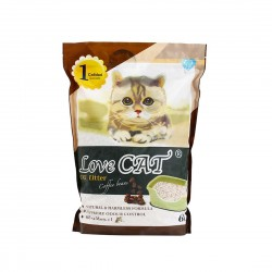 Love Cat Tofu Cat Litter Coffee Bean 6L