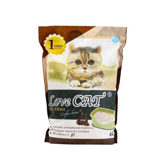 Love Cat Tofu Cat Litter Coffee Bean 6L