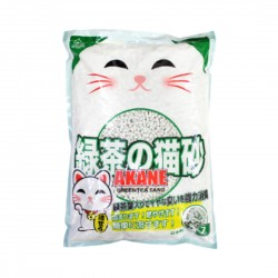 Akane Cat Litter Paper Sand Green Tea 7L