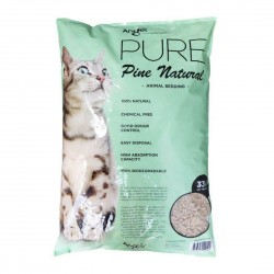 *Purrs & Meows* Angel Pure Pine Natural Cat Litter 15kg