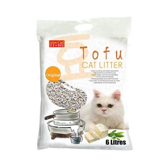 Aristo Cats Yi Hu Tofu Cat Litter Original 6L