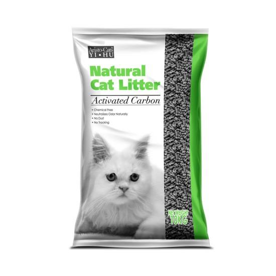 Aristo Cats Yi Hu Pine Cat Litter Charcoal 10kg