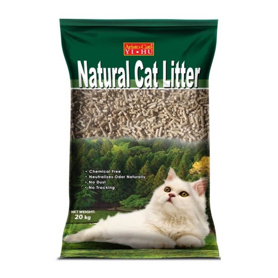 Aristo Cats Yi Hu Pine Cat Litter Original 20kg