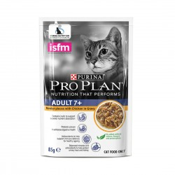 Purina Pro Plan Cat Food Chicken in Gravy for Adult 7+ 85g
